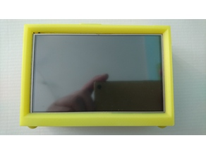 "Raspberry pi with 5 ""touch screen"