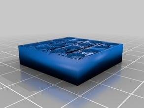 Plate 4x4 Lego technic compatible