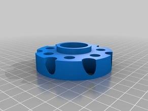 Parametric E-cig stand for mechanical mods