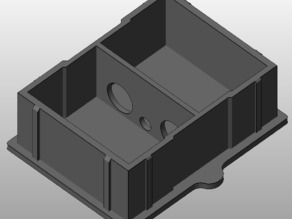 JR-compatible friction-fit blank RF module for Taranis