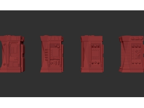 Type 8 Vending Machines. (Chems, 4 Models)