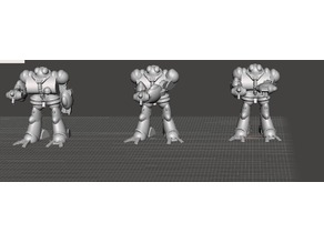 Robotech Masters Nous' Dohl Legionnaire Blue Bioroid set1 (3 units)