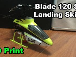 Blade 120 SR landing skids