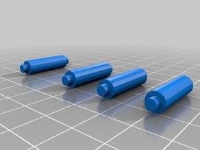 2 layer PCB standoffs