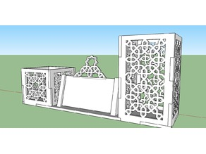 Islamic Pen Box for Desktop