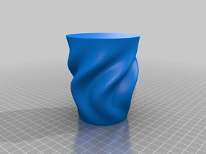 My Customized Rippled Organic Vase