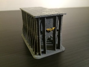 Small Imperium Building #3 for Epic 40K (6mm scale)