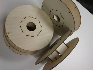 Plywood Filament Spool