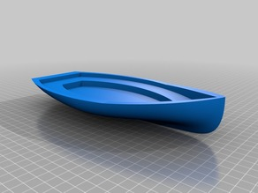 Simple Boat Hull (rowing boat?)