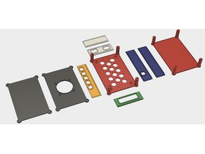 Easy printing modular enclosure