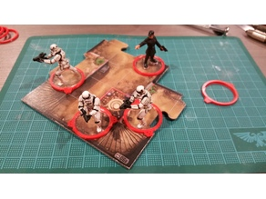 25mm Clear Base Markers