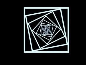 Box Optical Illusion