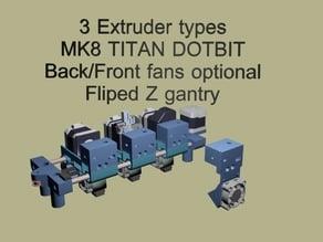 Robo3D R1 Direct Drive MOD 2019 DOTBIT and TITAN