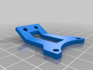 Portabee extruder cooling fan frame