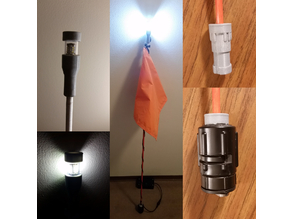 DIY Kayak Safety Flag and Light