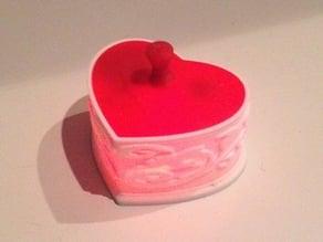 Heart Shaped Box with LED