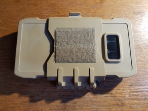 Airsoft molle mount case for Galaxy S8