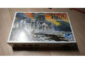 1906 San Francisco boardgame organizer/insert
