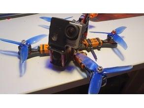 GoPro Hero 3 TPU FPV mount Realacc X5R frame