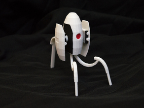 Portal Turret (snap-in legs)
