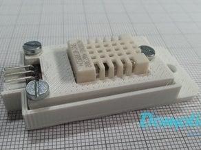 DHT22 - AM2302 Keyes module wall mount casing
