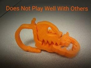 Pumpkin Jack o Lantern Clipz 2, Halloween Ready, Snack Ready, Scary, Bag Ready
