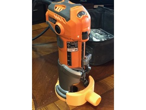 Ridgid R2401 - R24012 Trim Router Dust Collector