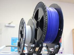 Filament spool / reel holder (for germanRepRap X400)
