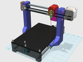 LaCu - The fully printable CNC
