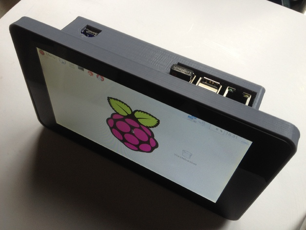Raspberry Pi 7 Quot Touchscreen Super Awesome Portable By