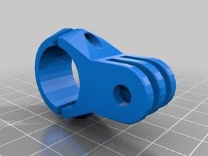 GoPro mount - For T2+ Aero Bar (20mm)
