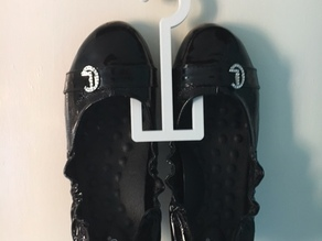 ballet flat/shoe hanger
