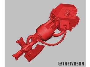 Templar Axe Arm for Garin's Dreadnought