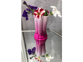 swoop bud vase