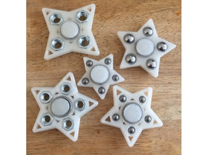Star (pick-a-weight) Fidget Spinner