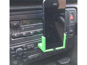iPhone Cassette Car Holder