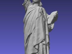 19th Century Bronze Statue of Liberty Model