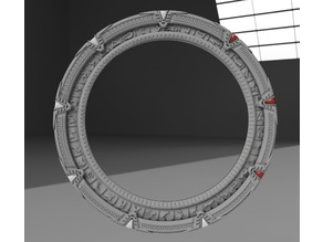 Stargate with dialing effects