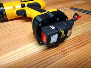 Dewalt 12v NiCd to XT60 adapter