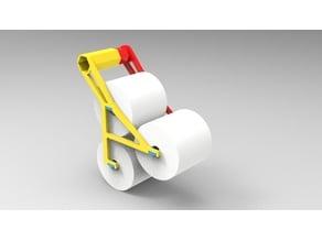 3 roll quik change toilet paper holder