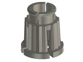 Water tap handle inner part