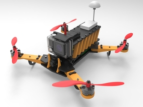 Ipi quadcopter - racing drone - 250 type