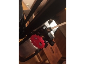 Anycubic Kossel Extruder mount 15 degrees