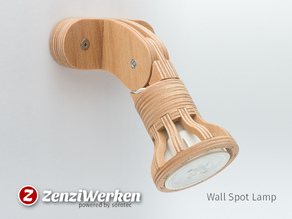 Wall Spot Lamp cnc/laser