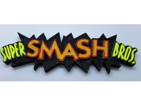 Super Smash Bros. 64 Logo