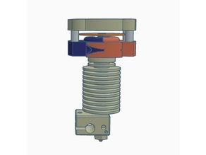 MK III Piezo Hotend z-probe for e3d v6 + Magnetic Delta Piezo Effector