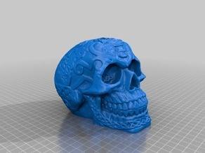 Skull Vape dual 18650 series mod box bla bla
