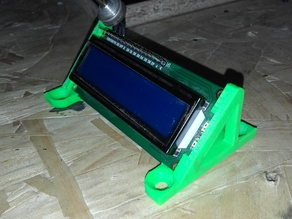 Soporte LCD 2x16 (LCD Support 2x16) holder