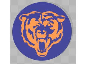 Chicago Bears Coaster Multicolor