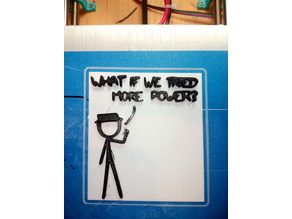 xkcd - what if we tried more power